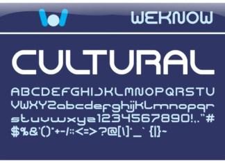Cultural Font