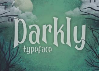 Darkly Font