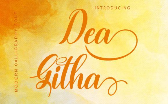 Dea Githa Font