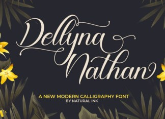 Dellyna Nathan Font