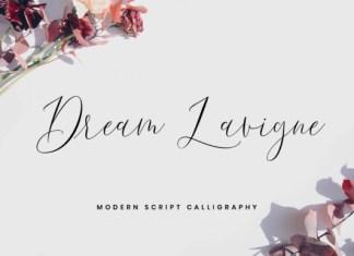 Dream Lavigne Font