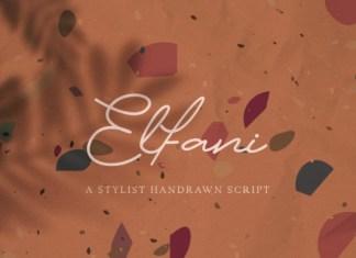 Elfani Font