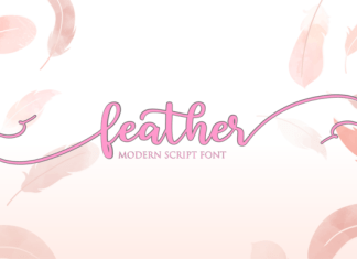 Feather Font
