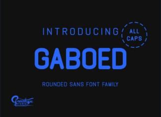 Gaboed Font
