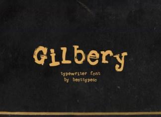 Gilbery Font