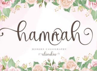 Hamnah Font