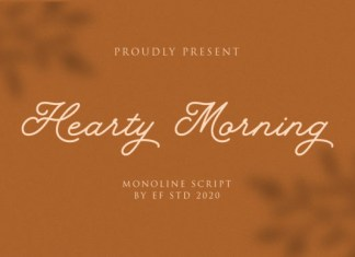 Hearty Morning Font