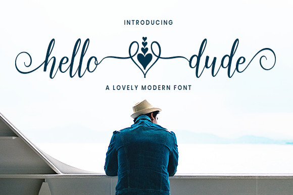 Hello Dude Font