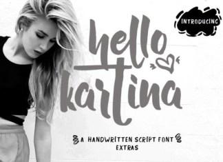 Hello Kartina Font