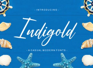 Indigold Font