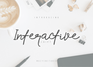 Interactive Font