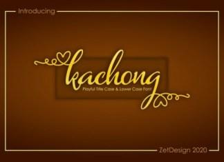 Kachong Font