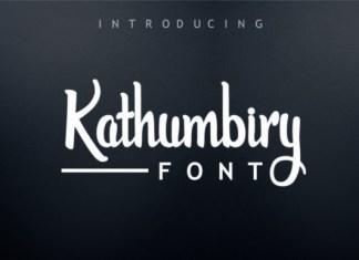 Kathumbiry Font