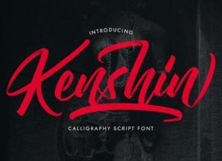 Kenshin Font