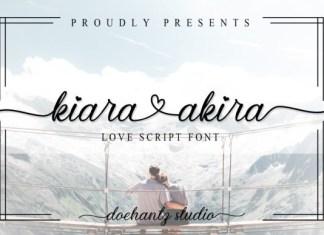 Kiara Akira Font