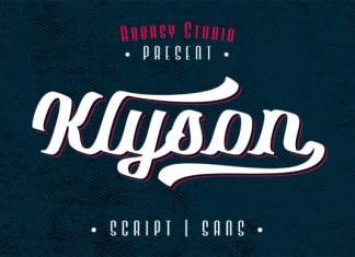 Klyson Font