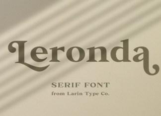 Leronda Font