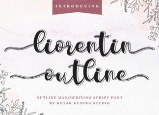 Liorentin Outline Font