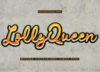 Lolly Queen Font
