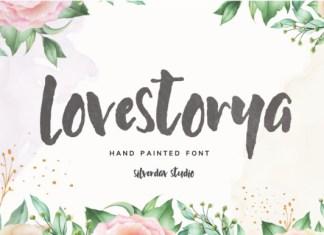 Love Storya Font