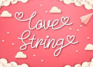 Love String Font