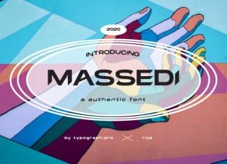Massedi Font