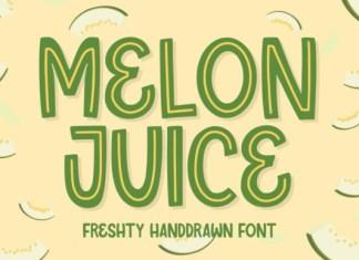 Melon Juice Font