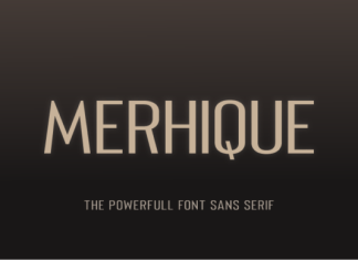 Merhique Font