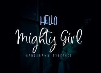 Mighty Girl Font
