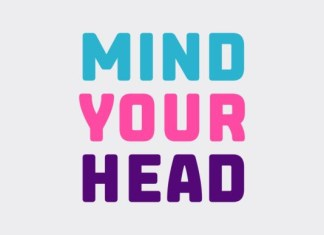 Mind Your Head Font