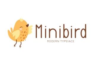 Minibird Font