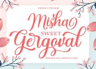 Misha Gergoval Font
