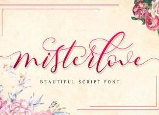 Misterlove Font