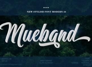 Mueband Font