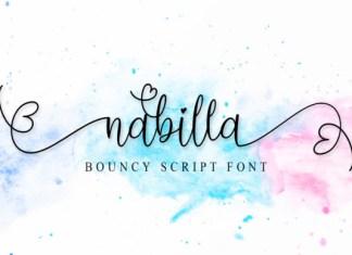 Nabilla Font