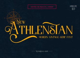 New Athlenstan Font