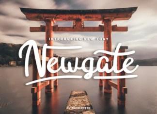 Newgate Font