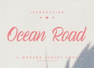 Ocean Road Font