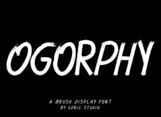 Ogorphy Font