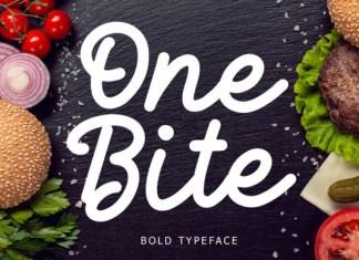 One Bite Font