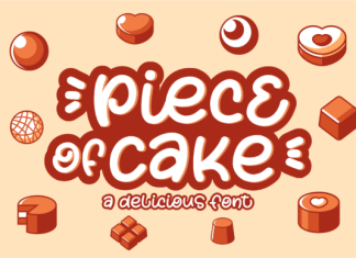 Piece of Cake Font
