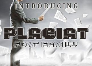 Plagiat Font