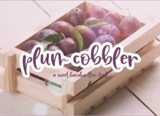 Plum Cobbler Font