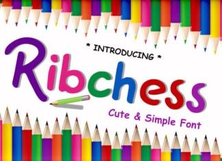 Ribchess Font
