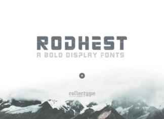Rodhest Font