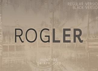 Rogler Font