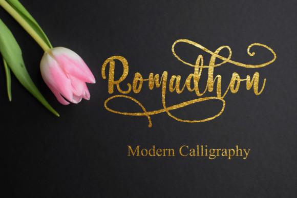 Romadhon Font