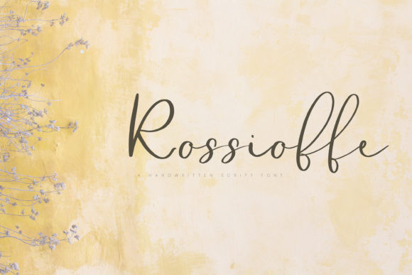 Rossioffe Font