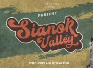 Sianok Valley Font