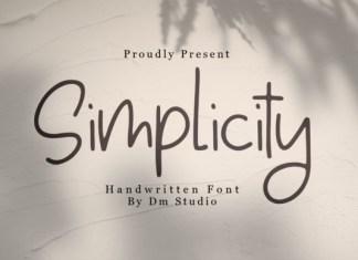 Simplicity Font